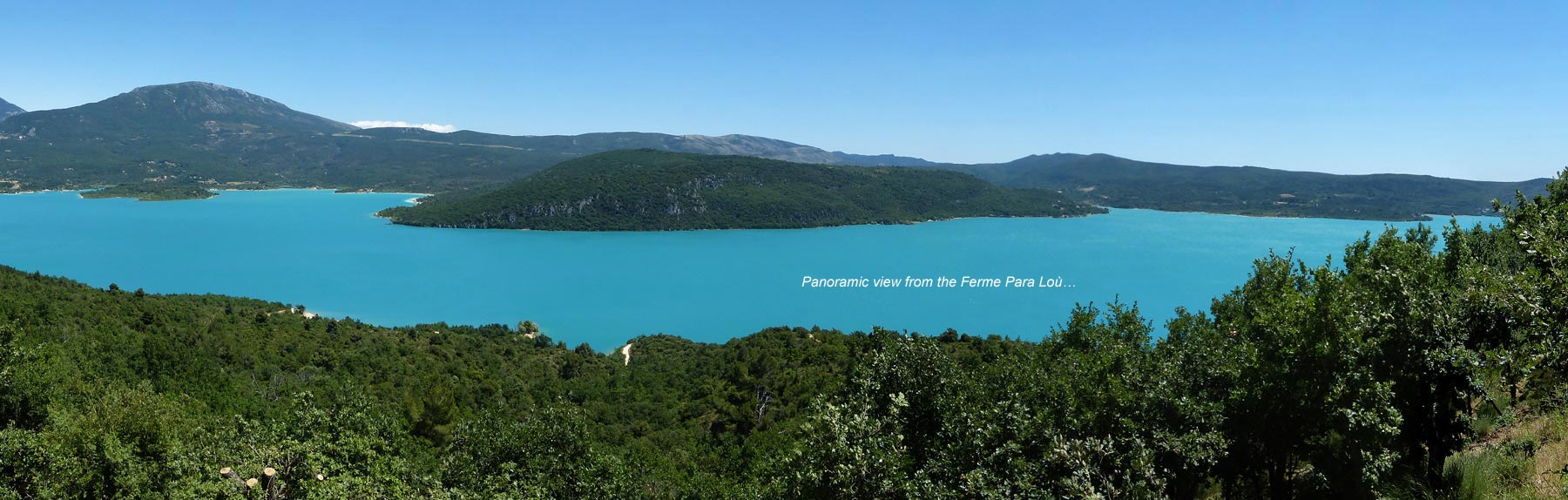 Guest rooms and holiday cottages 700 m from the lake of - Office du tourisme sainte croix du verdon ...